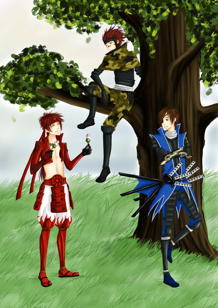 Under the Tree by KiraXY