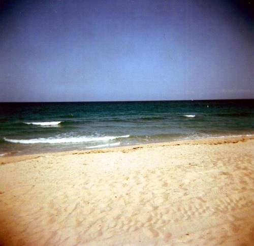 holga beach by herhearts