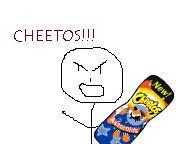 Gotta Love Them Cheetos by sayokaze
