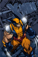 X men Wolverine by AlonsoEspinoza