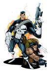 Punisher and Wolverine
