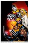 X-Men Pin-up