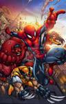 Avenging Spiderman Promo by AlonsoEspinoza