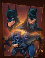 Batman Sketchshots by AlonsoEspinoza