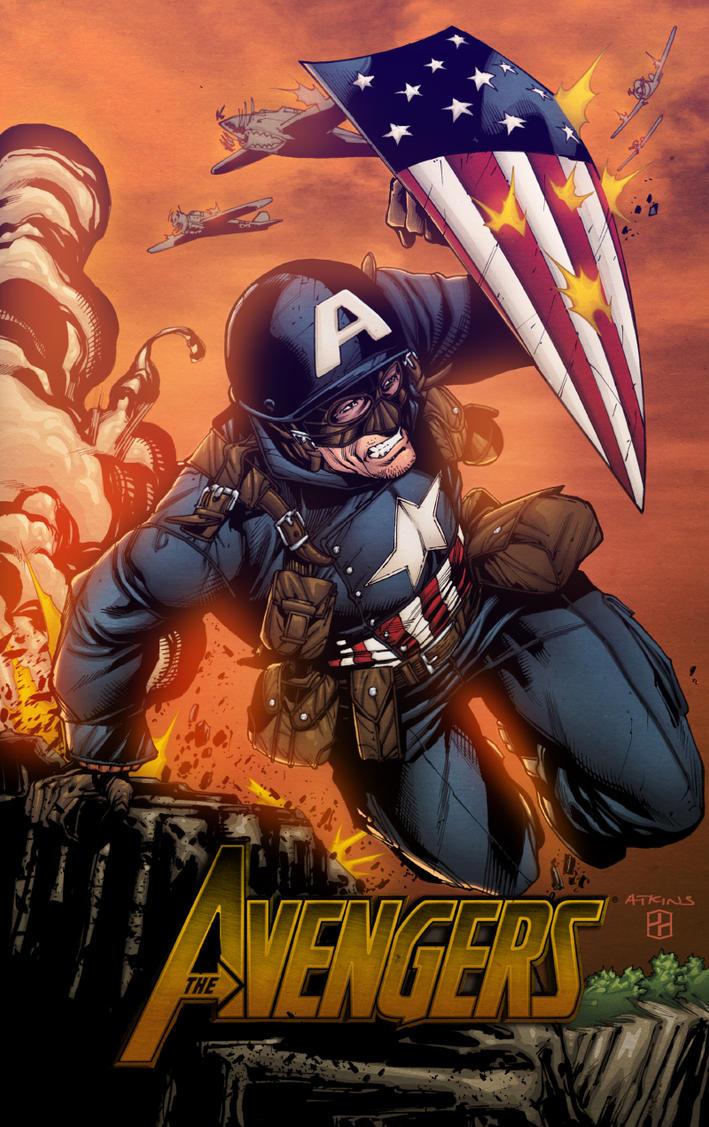 Captain America by AlonsoEspinoza