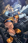 Wolverine and White Queen