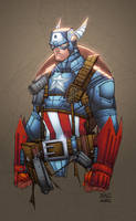 Cap. America by AlonsoEspinoza