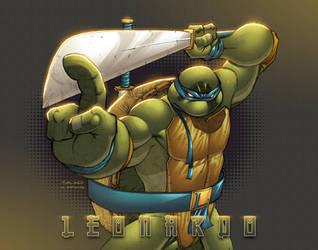 Leonardo TMNT by AlonsoEspinoza