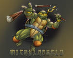 TMNT Michelangelo print