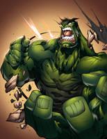 Hulk by AlonsoEspinoza