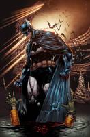 Batman cave by AlonsoEspinoza