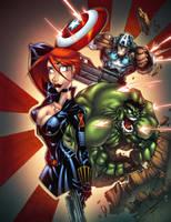 Avengers by AlonsoEspinoza