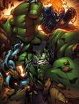 Hulk in chains