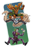 Hobgoblin and The Joker by AlonsoEspinoza