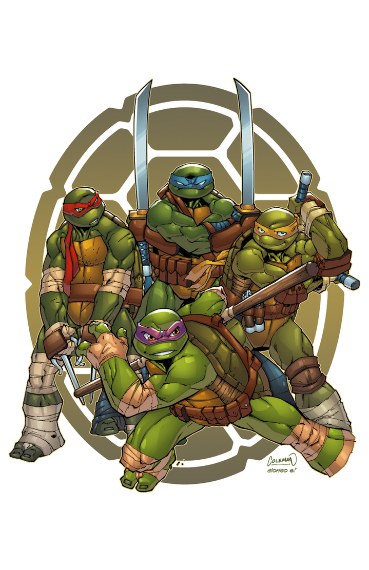 Line Art Ninja Turtles : Tmnt by alonsoespinoza on deviantart
