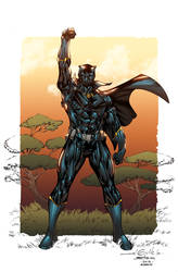 Black Panther Conqueror by AlonsoEspinoza
