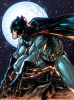 Batman Gargoyle by AlonsoEspinoza
