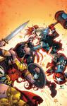 Wonder Woman and Harley Quinn