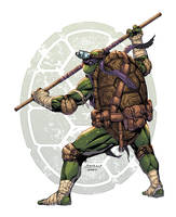 TMNT Donnie by AlonsoEspinoza