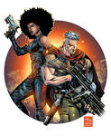 Domino and Cable