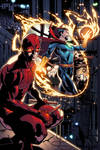 Daredevil and Dr. Strange
