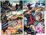 X-Men #17 pages 10 and 11