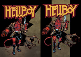 HellBoy by Chino colors both LR
