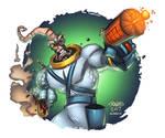 Battle Damaged Earthworm Jim