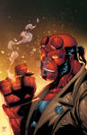 Hellboy by Anthony Figaro colors LR