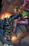 Batman and Joker fight