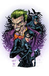 The cat, the Joker and the Bat