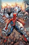 Spiderman cover sample