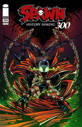 Spawn 300 Cover recreation
