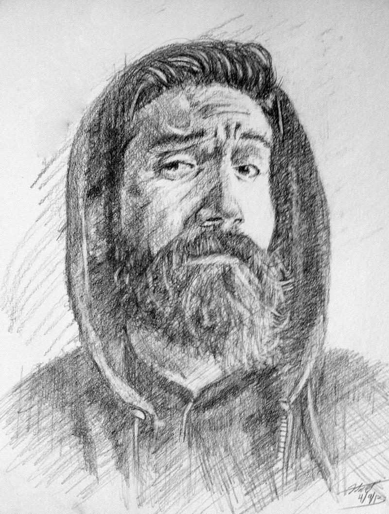 Bearddit Portrait by Lodac