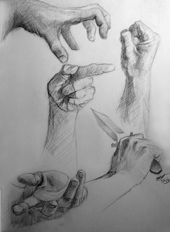 Hands, hands hands! by Lodac
