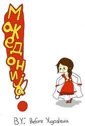 Macedonia Chibi Diary Cover