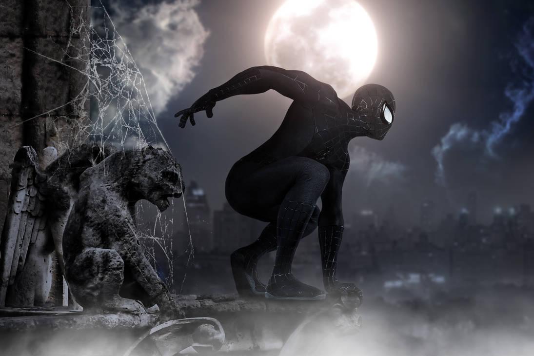 Spidey Gargoyle Web Eye