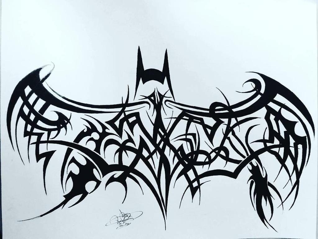 Batman tribal by DrumArt