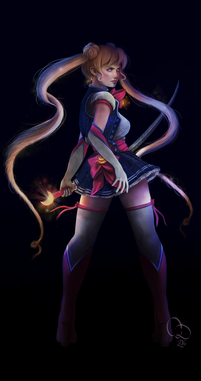Character Design Challenge Sailor Moon : Sailor moon character design challenge june by