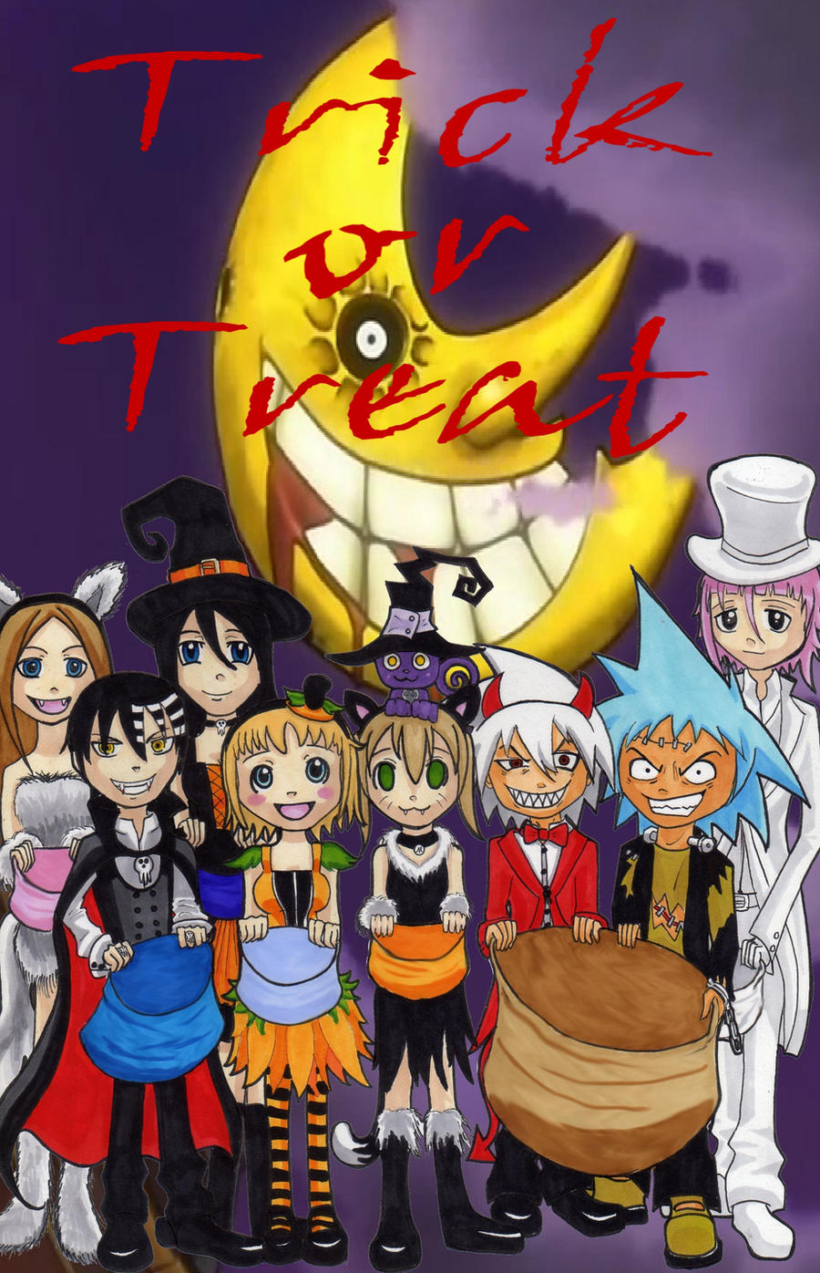 Soul eater halloween by arcaninepup on deviantart - This is halloween soul eater ...