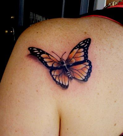 a2ecdf16e1f29 realistic butterfly cover up by TribalInkTattooz on DeviantArt
