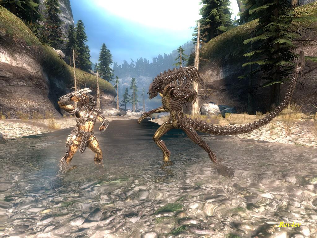 Predator vs  Predalien by revan4ev on DeviantArt