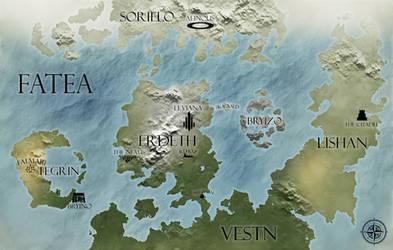 Fatea World Map by Rurik-Redwolf