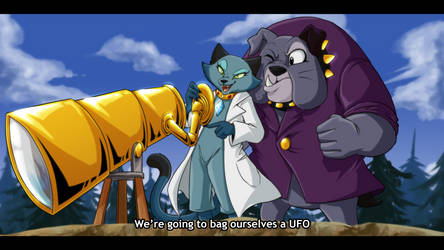 [COM] ''We're going to bag ourselves a UFO''