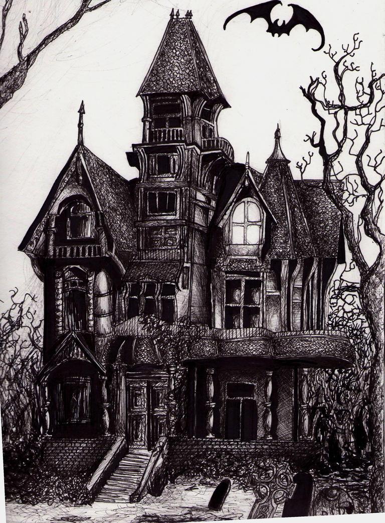 Haunted Mansion By Dark Drac
