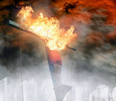 Burning Jesus
