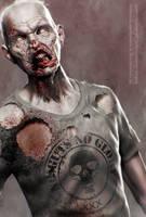 No Guts No Glory - Zbrush Zombie by Shapula