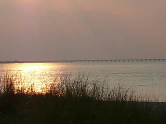 Chesapeake Bay Summer Sunset by bgrateful32