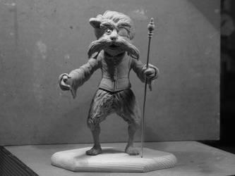 labyrinth Sir Didymus sculpture by yotaro-sculpts