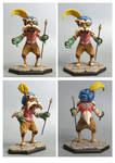 labyrinth Sir Didymus sculpture colors